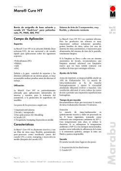Technical Data Sheet - Marabu