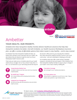 Ambetter Balanced Care 8 (2016) (Silver Level)