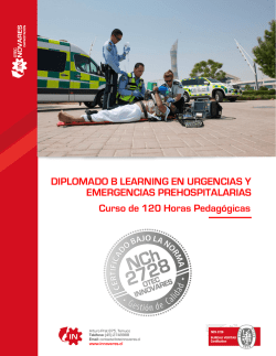 DIPLOMADO B LEARNING EN URGENCIAS Y