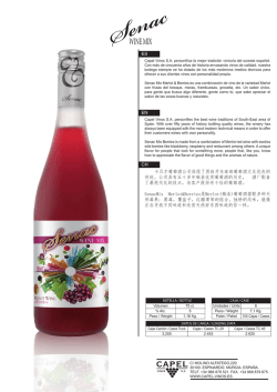 SENAC MIX MERLOT & BERRIES PIL. 75CL