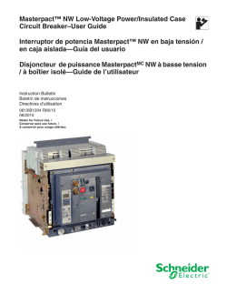 Masterpact™ NW Low-Voltage Power/Insulated