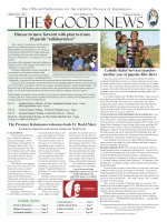 February edition of The Good News Click here to read the latest