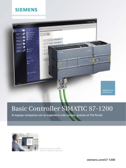 Basic Controller SIMATIC S7-1200