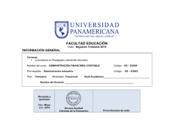 Administracion Financiera Contable