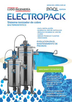 electropack - Ion-cobre by Ludo Ingenieria