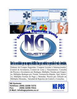 N G Systems International Group S.A.