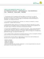 SALVAMENTOS MAYO 2015 - Seguros Bolivar Institucional