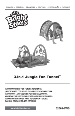 3-in-1 Jungle Fun Tunnel™