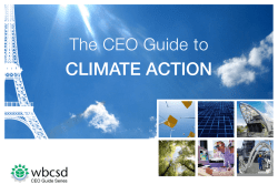 CLIMATE ACTION - BCSD Portugal