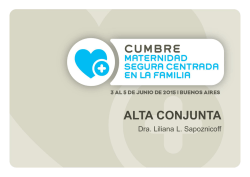 Alta conjunta - UNICEF Campus virtual