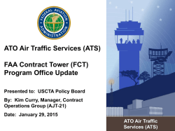 (AJT-21), January - Contract Tower Association