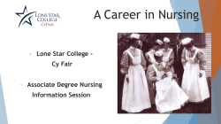 Associate Degree Nursing Program