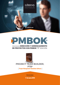 Descarga el brochure