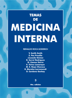 MEDICINA INTERNA. TOMOIII
