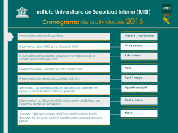 Diapositiva 1 - Instituto Universitario de Investigación sobre