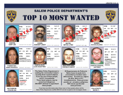 top 10 most wanted