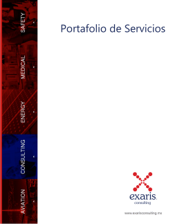 Folleto Exaris Consulting Ver 2-0