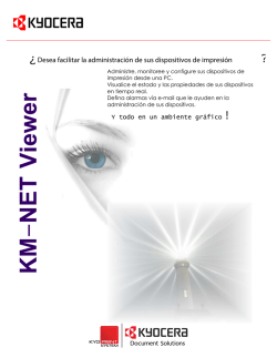 KM-Net Viewer Kyocera Kyoprint 2016