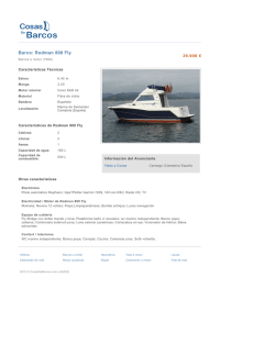 Barco: Rodman 800 Fly
