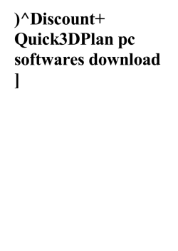 Quick3DPlan by