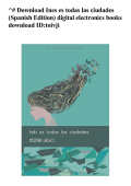 ^# Ines es todas las ciudades (Spanish Edition) digital