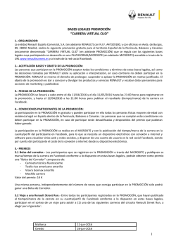 Bases Legales - Renault Runners