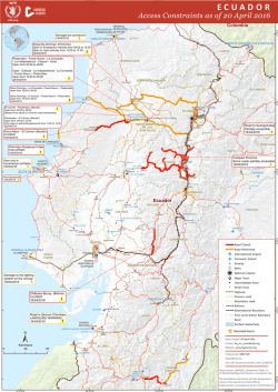 Access Constraints as of 20 April 2016
