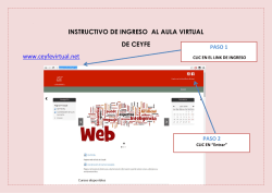 INSTRUCTIVO DE INGRESO AL AULA VIRTUAL DE CEYFE www