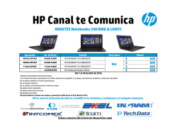 mejores - HP Canales