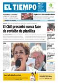 El CNE presentó nueva fase de revisión de planillas