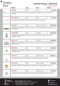 Lista de Precios - 2016 V3.0