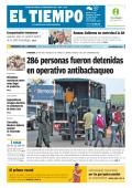 286 personas fueron detenidas en operativo