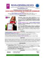 Info XXXIII Sumiller - Escuela Española de Cata