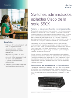 Cisco 550X Series Stackable Managed Switches At-a