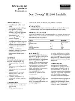 Dow Corning® IE-2404 Emulsión