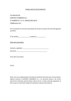Lista de participantes habilitados for Formulario desistimiento