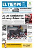 Coca Cola paralizó actividad en la zona por falta de azúcar