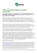 TTIP: la pretendida arcadia de las grandes corporaciones