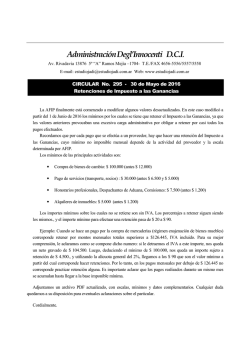 Circular No.295 - Estudio Contable Degl`Innocenti