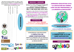 Jornadas Educativas 2016