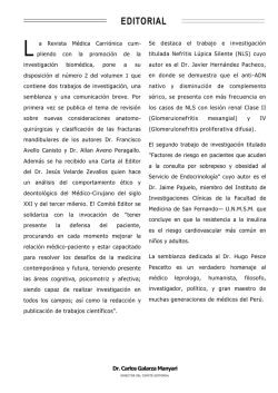EDITORIAL - revista medica carrionica