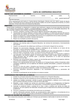 carta de compromiso educativo