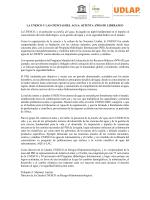 Mensaje de la Cátedra Unesco en Riesgos Hidrometeorológicos.