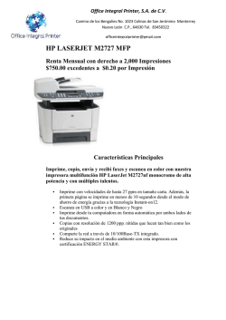HP 2727 MPF - office integral printer