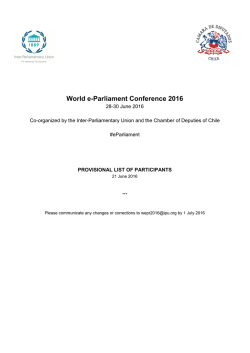 English - World e-Parliament Conference 2016
