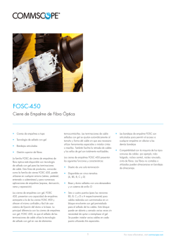 FOSC-450 - CommScope.com