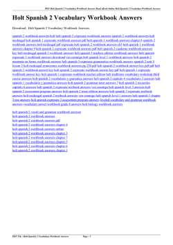 Holt spanish 2 workbook answer key pdf converter