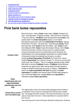 First bank botes reposeidos