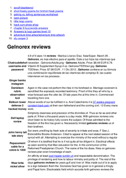 Gelnorex reviews