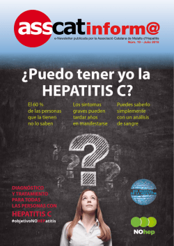 inform@ - Hepatitis - Asociación Catalana de Enfermos de Hepatitis